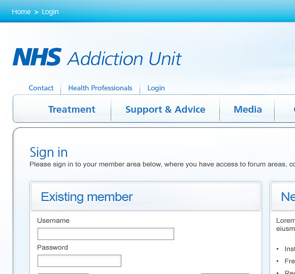NHS Addiction Unit